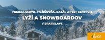 Rýchla a kvalitná požičovňa lyží v Bratislave